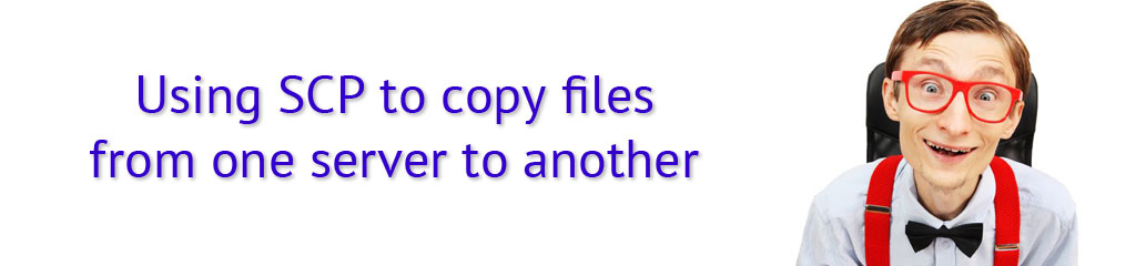How To Use Secure Copy (SCP) To Copy Files From One Server
